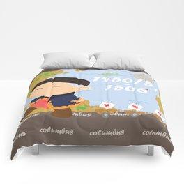 Columbus (Cristóbal Colón) Comforters