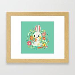 Sweetest Easter Bunny Framed Art Print