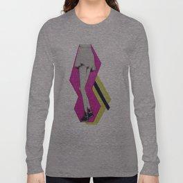 Pop Art Skirt Long Sleeve T-shirt