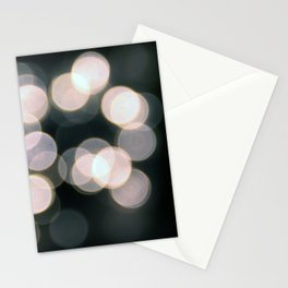 Blurry Nights Stationery Cards