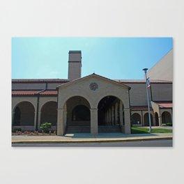 Lourdes University-  Franciscan Center in the Spring V Canvas Print