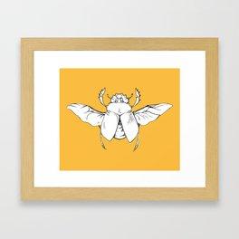 Scarab Framed Art Print
