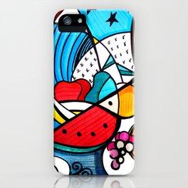Guacamaya Americana iPhone Case