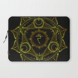 Solar Plexus Mandala Laptop Sleeve