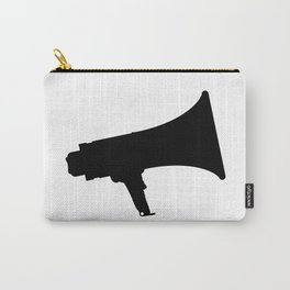 Megaphone Silhouette Carry-All Pouch