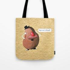 Potato Head's Existential Crisis. Tote Bag