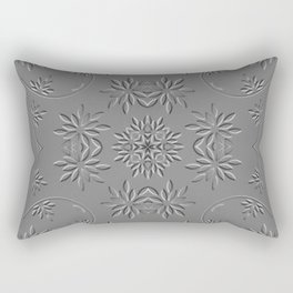 Caledoscopic flowers Rectangular Pillow
