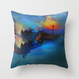 Time keepers Throw Pillow
