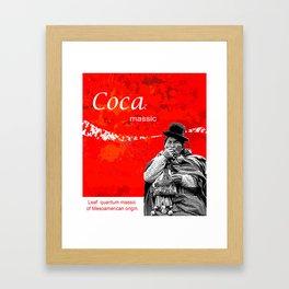 Coca Massic Framed Art Print