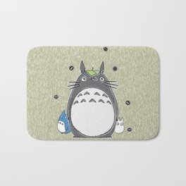 Will you be my neighbor Totoro? Version 1 Bath Mat