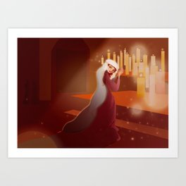 Queen Isabella I of Castille - Spain Art Print