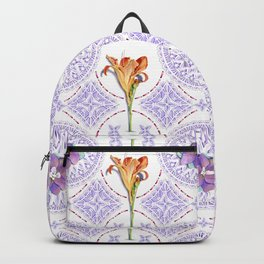 Gothic Revival Daylily Lace Backpack