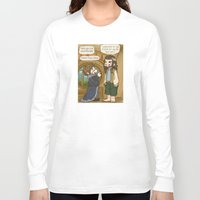 thorin Long Sleeve T-shirts featuring Thorin the Exchange Hobbit by BlacksSideshow