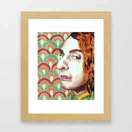 """Tiptoe Thru the Tulips"" Framed Art Print"
