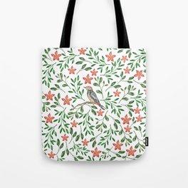 BIRD - WATERCOLOUR Tote Bag