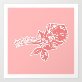 Female Power Art Print