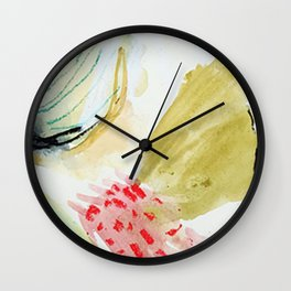 Day 52: peaks and valleys. Wall Clock