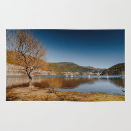 View of the Lake in San Martin de los Andes Rug