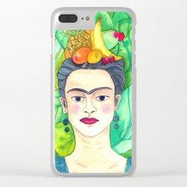 Chiquita Frida Clear iPhone Case
