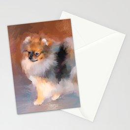 Tiny Pomeranian Stationery Cards