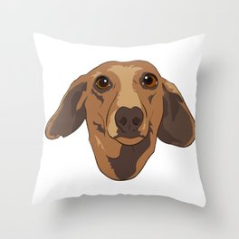 Dobby the Weenie Throw Pillow