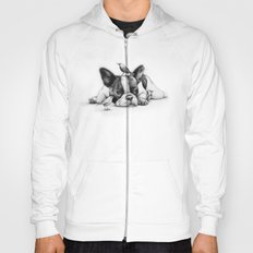 Frenchie and the Birds Hoody