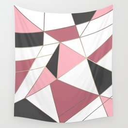 Abstraction . 4 geometric pattern Wall Tapestry