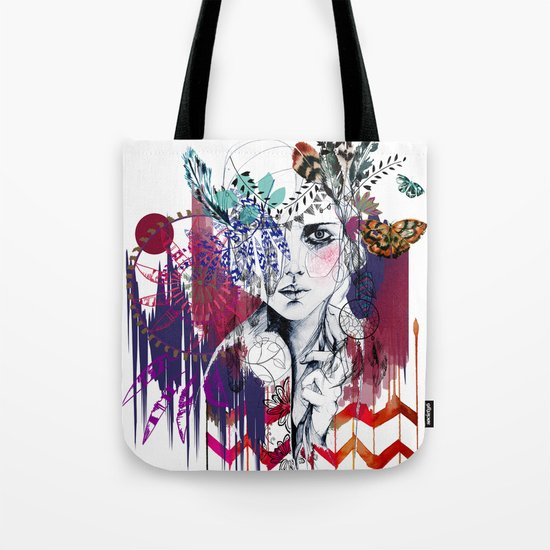 Tribal Girl  Tote Bag