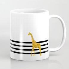 Gold Giraffe Mug
