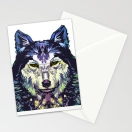 Wolf Icon 06 Stationery Cards