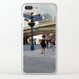 Motion at Pershing Square Clear iPhone Case