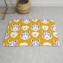 LSU yellow Rug