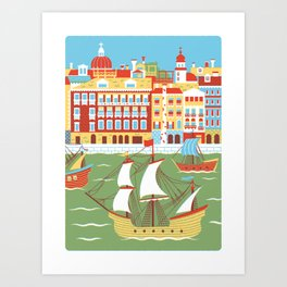Canal Grande Art Print