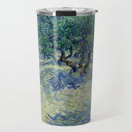 Van Gogh - Olive Orchard Travel Mug
