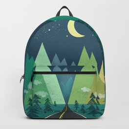 The Long Road at Night Backpack