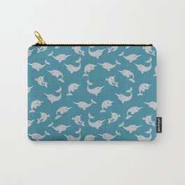 Narwhals Under the Sea Carry-All Pouch