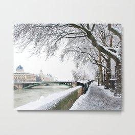 Notre-Dame Bridge,Paris Metal Print
