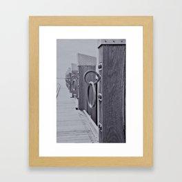 Geelong Pier Framed Art Print