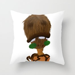 Coco Nuts Throw Pillow