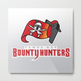 Tampa Bay Bounty Hunters - NFL Metal Print