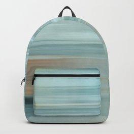 Life (Aqua and Burnt Rose) Backpack