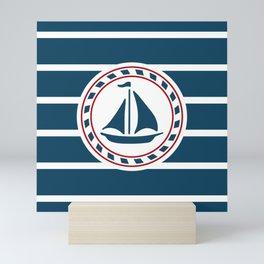 Sailing boat Mini Art Print