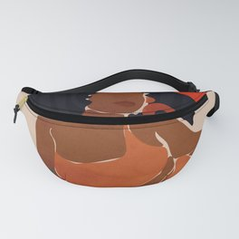 Red Sun Fanny Pack
