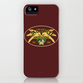 Jackpot Brewing Co. iPhone Case