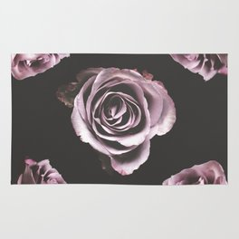 Dark roses Rug