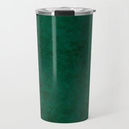 Green suede Travel Mug