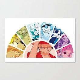 Straw Hat Pirates Canvas Print