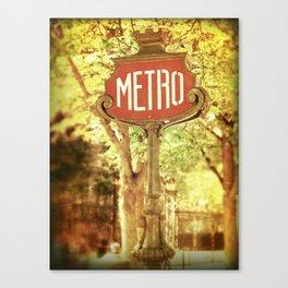 METRO2 Canvas Print