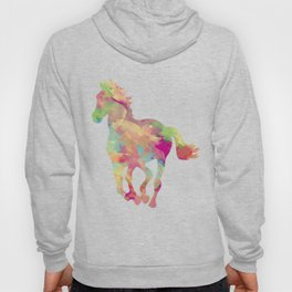 Abstract horse Hoody