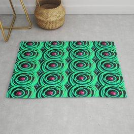 Circle design number 7 Rug